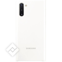 SAMSUNG SILICONE COVER WHITE FOR NOTE 10