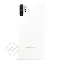 SAMSUNG SILICONE COVER WHITE FOR NOTE 10PLUS