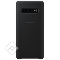 SAMSUNG SILICONE COVER BLACK GALAXY S10 PLUS