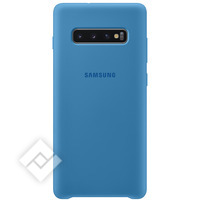 SAMSUNG SILICONE COVER BLUE GALAXY S10 PLUS