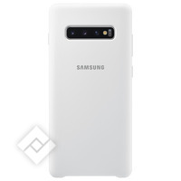 SAMSUNG SILICONE COVER WHITE GALAXY S10 PLUS
