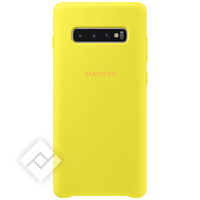 SAMSUNG SILICONE COVER YELLOW GALAXY S10 PLUS