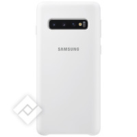 SAMSUNG SILICONE COVER WHITE GALAXY S10