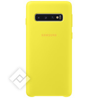 SAMSUNG SILICONE COVER YELLOW GALAXY S10
