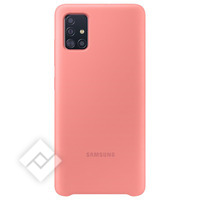 SAMSUNG SILICONE COVER PINK A51