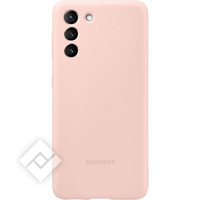 SAMSUNG SILICONE COVER S21 PINK