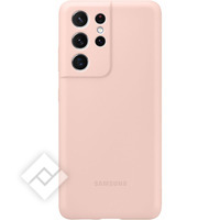 SAMSUNG SILICONE COVER S21U PINK