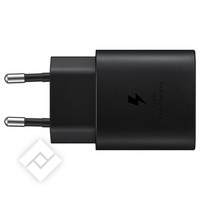 SAMSUNG USB-C CHARGER 25W BLACK