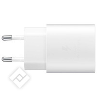 SAMSUNG USB-C CHARGER 25W WHITE