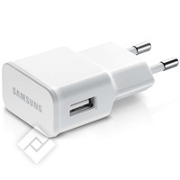 SAMSUNG WALL CHARGER WHI 2AMP
