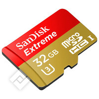 SANDISK MICROSD EXT.32GB ACT.CAM
