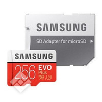 SAMSUNG MICROSDXC 256GB EVO+ ADAPTER