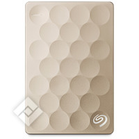 SEAGATE 1TB BACKUP+ PORTABLE GOLD
