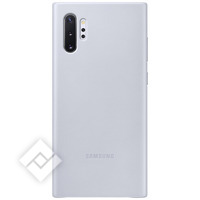 SMAPPEE LEATHER COVER GREY FOR GALAXY NOTE 10PLUS