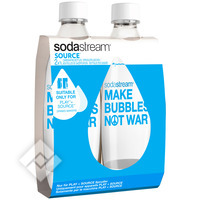 SODASTREAM DUOPACK SOURCE MAKE BUBBLES NOT WAR