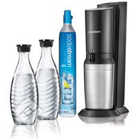 SODASTREAM CRYSTAL MEGAPACK BLACK