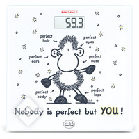 SOEHNLE 63345 EDITION SHEEPWORLD NOBODY IS PERFECT BUT YOU