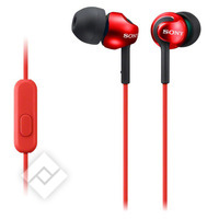 SONY MDR-EX110AP RED