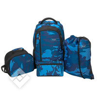 TARGUS BACKPACK SET BLUE CAMO