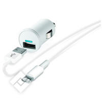 TEMIUM CARCHARGER USB LIGHT WHIT