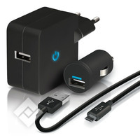TEMIUM HOME&CARCHARGER MICROUSB