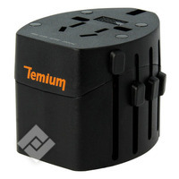 TEMIUM TRAVEL ADAPTER(NO GROUND)