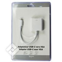 Câble PC / Imprimante USB-C 2 VGA ADAPTER