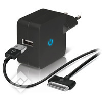 TEMIUM WALL CHARGER 1SLOT+30P BL
