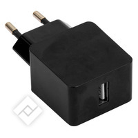 Chargeur USB ou chargeur voiture pour smartphone / tablette WALL CHARGER 2.1A 1XUSB