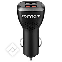 TOMTOM DUAL FAST CHARGER USB
