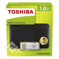 TOSHIBA CANVIO 1TB +KEY 16GB USB3