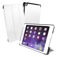 TUFFLOVE SMART COVER / STAND -COUVERTURE DE PROTECTION ULTRA FORTE - IPAD MINI 4 - BLANC