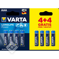 VARTA LONGLIFE POWER AAA 4+4