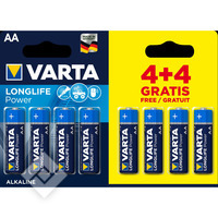VARTA LONGLIFE POWER AA 4+4