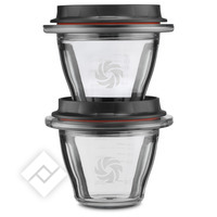 VITAMIX CONTAINER 225 ML (2 PC)