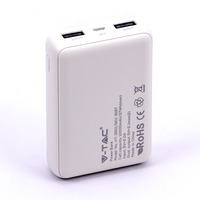 VTAC VT-3501 POWERBANK - 10.000 MAH - WIT