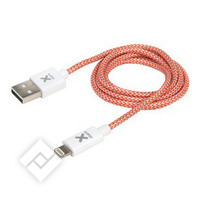 XTORM LIGHTNING USB CABLE 2.5M