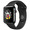 APPLE WATCH SERIES 2 2016 38MM SPACE BLACK STAINLESS STEEL CASE SPACE BLACK SPORT BAND