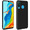 AVIZAR Coque Huawei P30 Lite Protection Silicone gel Effet Carbone Noir