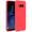 FORCELL Forcell Coque Galaxy S8 Plus Coque Soft Touch Silicone Gel Souple - Rouge