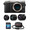 PANASONIC LUMIX DMC-GX80 12-32 + 35-100 + 25MM + case + SD