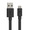 XTORM FLAT USB TO MICRO USB CABLE 1M BLACK