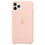 APPLE IPHONE 11 PRO MAX SILICONE CASE PINK SAND,