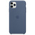 APPLE IPHONE 11 PRO MAX SILICONE CASE AK BLUE,