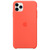 APPLE IPHONE 11 PRO MAX SILICONE CASE CLEMENTINE,