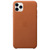 APPLE IPHONE 11 PRO MAX LEATHER CASE BROWN
