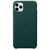 APPLE IPHONE 11 PRO MAX LEATHER CASE FOREST GREEN,