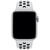 APPLE 40mm Pure Platinum/Black Nike Sport Band - S/M & M/L