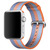 APPLE 42MM ORANGE STRIPE WOVEN NYLON