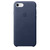 APPLE LEATHER COVER MIDNIGHT BLUE IPHONE 7,8,